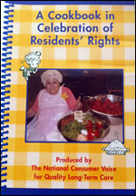 Residents' Rights Week Cookbook Cover