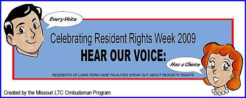 Resident's Rights Week Logo